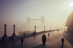 Tower Bridge, Morning Fog photo by {Laura McGregor}