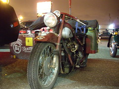 1939 Nimbus Sidecar Traveling around the world