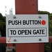 Push Button to Open Gate