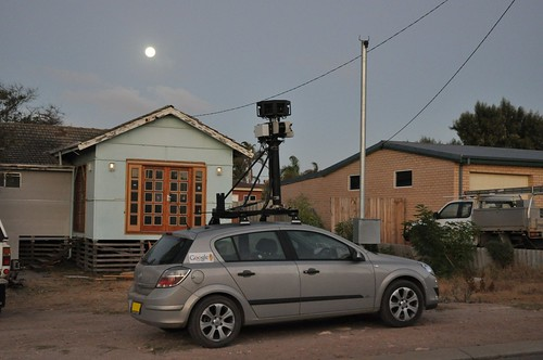 Full moon google car