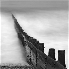 Groyne, Cromer Beach, Norfolk photo by dave in norfolk