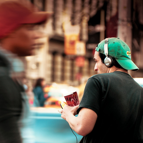 New York / Street Photography / Music photo by ►CubaGallery