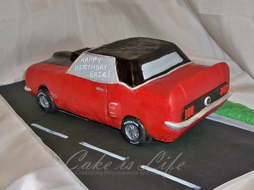 Ford Mustang Birthday Cakes 1969 Ford Mustang Cake Photo