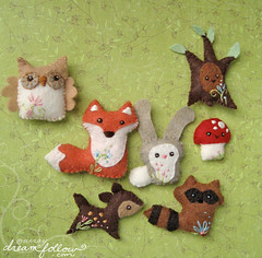woodland animals photo by merwing✿little dear