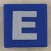 counterfeit Lego letter E