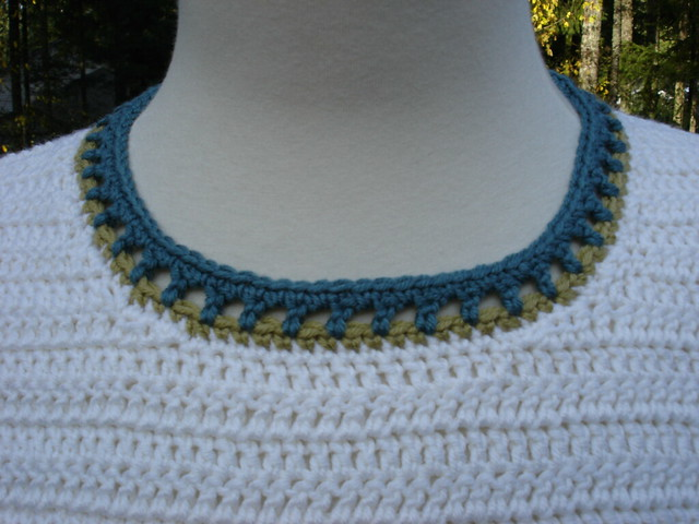 Bernat: Pattern Detail - Bamboo - Natural Bamboo Top (knit)