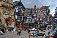 Eastgate Street Chester photo by 8mm & Other Stuff