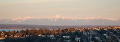 Sunrise viewed from Queen Anne Hill, Seattle, WA