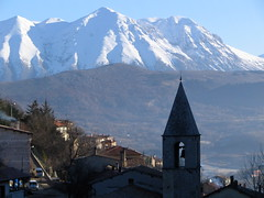 Santa Maria del Soccorso and Velino photo by peet-astn