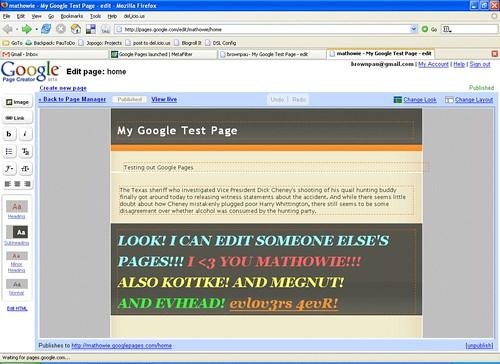 googlepage-mathowie
