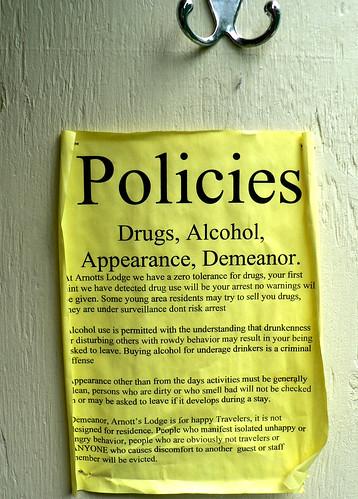 hotel policies
