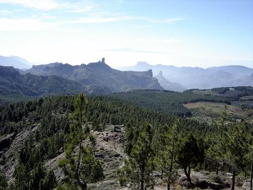 Roque Nublo, Roque Bentaiga, Teide