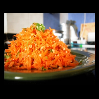 Not Mine - carrot peanut salad