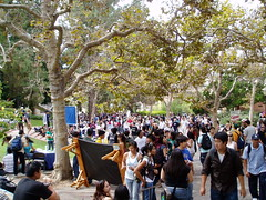 UCLA - first day of classes