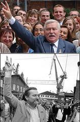 Lech Walesa, líder del movimiento Solidaridad