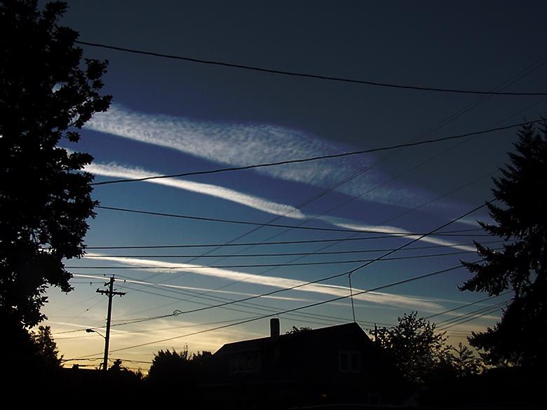 Criss-Cross-Sky