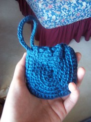 coin pouch: part of the blue series