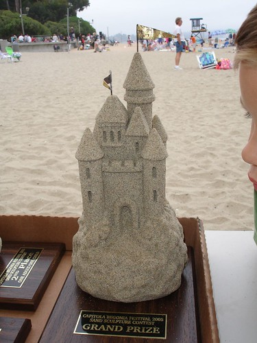 Capitola Sandcastle Contest Grand Prize