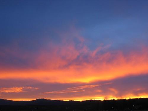 Idaho Alene Sunset
