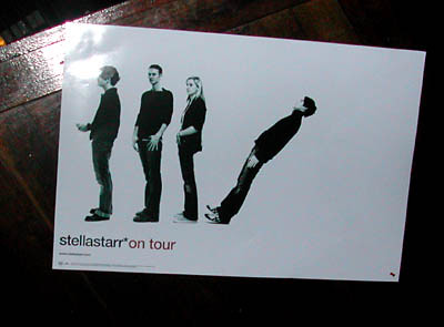 Stellastarr poster