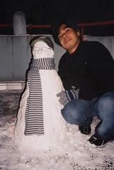 Snowman, Colmar, France