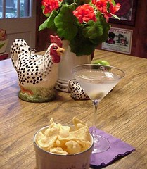 Martini and Wontons