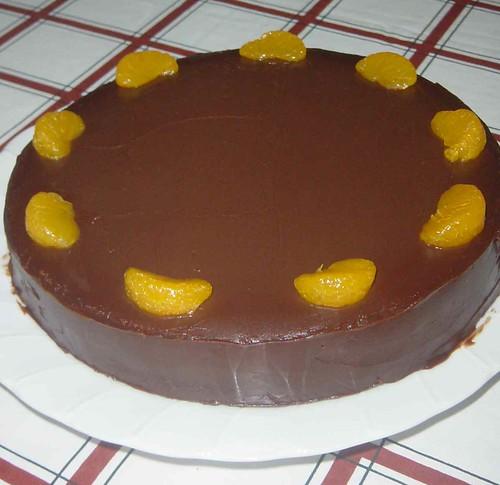 Double Chocolate Orange Torte Recipe — Dishmaps