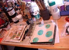 Tara's Art Camp's studio