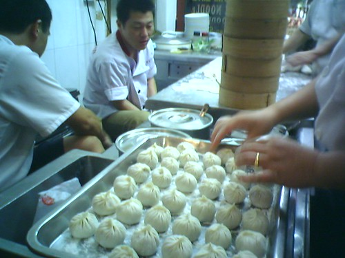 Hsiao Long Bao before steaming