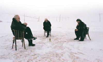 tertulia sobre la nieve