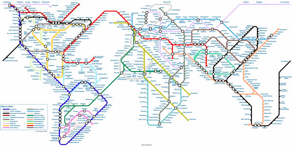 World Tube Map