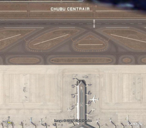 Google Earth - Chubu Centrair Int'l Airport