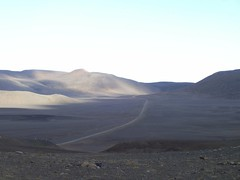 Towards Jökuldalsheiði Plataeu