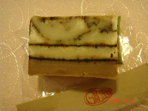 格子的美型皂