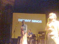 Benny Sings concert