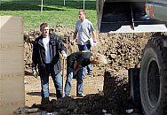 Germany Jewish Grave Found 09/22/05