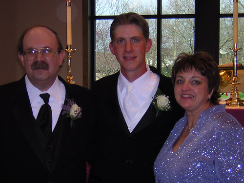 mom, dad and joey