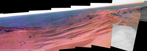 Spirit Sol 611 Pancam False-Color
