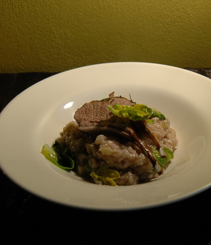 lamb and risotto