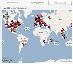 Delineate Visitor Locations