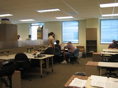 Shared working space at TSRB gatech