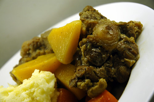 Oxtail with Suede