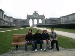 Parc du Cinquantenaire, Brussels, Belgium