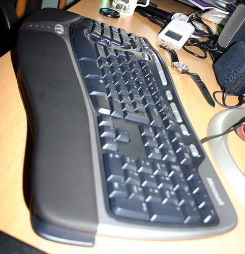 Ergonomic Keyboard 4000 - Key Angle