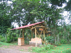 Mastatal Bus stop (made out of Cob)