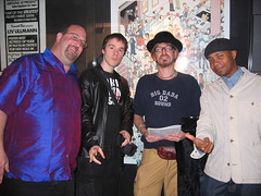 Marc Canter, Ben Metcalfe, Jonathan Moore (Coldcut) and DJ Spooky