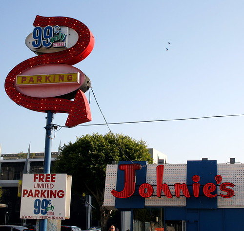 johnie's and 99¢ only stores parking