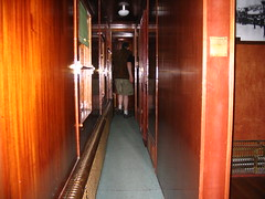 Walking in the Darkness of the Venosta Railcar