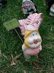 Kylie Mi-gnome @ Floriade