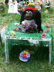 Marley gnome @ Floriade